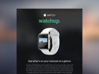Watchup on the Apple Watch