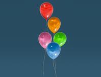 Day 47 - Balloons balloons cartoon different product design concept design clean render blender 3d art 3d