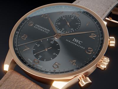 IWC Chronograph Watch