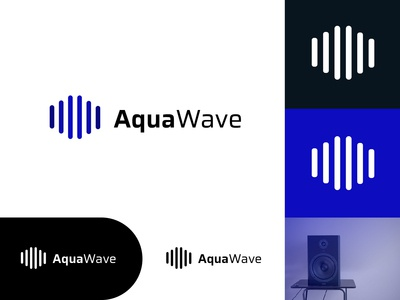AquaWave - Logo Design