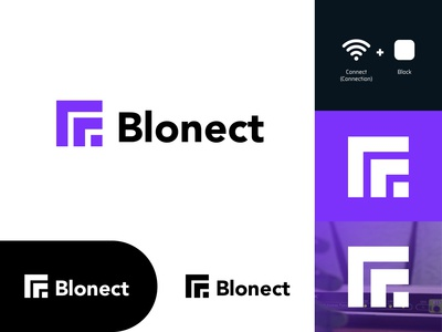 Blonect - Logo Design