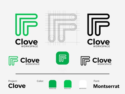 Clove Workspace - Logo Design