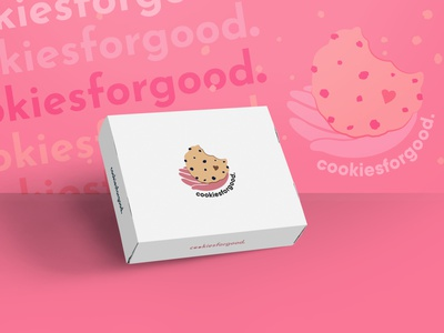 Cookiesforgood Brand Image good covid19 coronavirus charity product packaging packaging design graphic design illustration vector cookies brand design brand style brand style guide logotype logo design brand image logo branding design brand identity brand