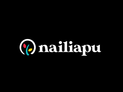 Nailiapu vector logo design print design branding illustration graphic design typetreatment typography design logo