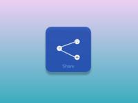 Social Share_ Icon/Button UI