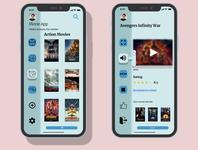 Movie App Design