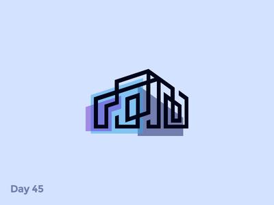 Daily Logo 45/50 - Architectural Logo