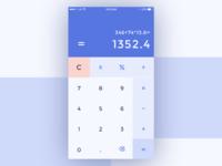 Daily UI 004/100 - Calculator