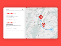 Daily UI 020/100 - Location Tracker