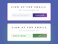 Daily UI 026/100 - Subscribe