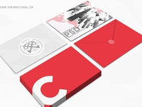 Postcard Showcase Mokcup