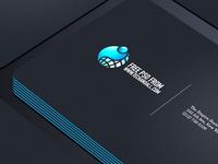Business  Card Showcase PSD