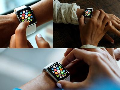 3 Apple Watch Mockup Show download freebies watch apple freebie mockup psd