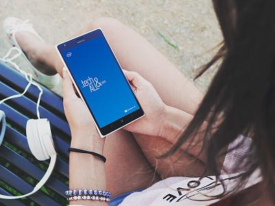 Nokia Lumia Mockup nokia web mobile freebie mockup psd