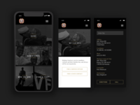 VFW Mobile App Design