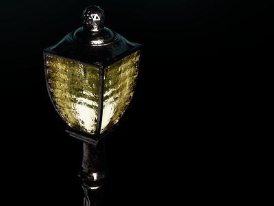 A light of hope 2 hope light darkness dark lamp cycles render design blender3d 3dmodel photoshop blender