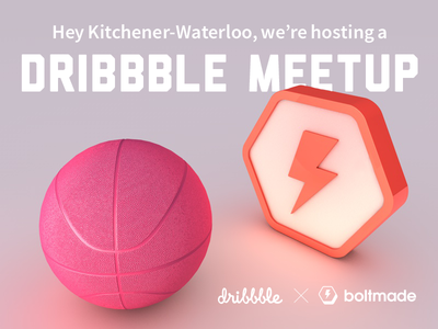 Boltmade dribbble Meetup!