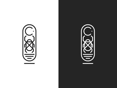 Chris Cole 10 - Logomark logomark shoes cartouche egyptian egypt skateboarding logo branding scarab
