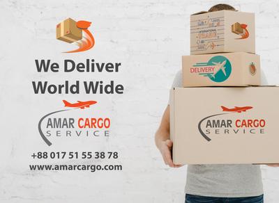 amar Cargo Ad Banner