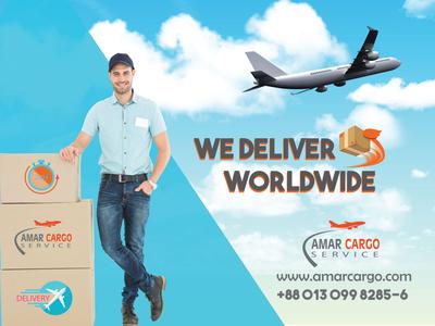 Amar Cargo Ad Banner Concept 2