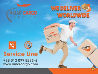 Amar Cargo Ad Banner Concept 3