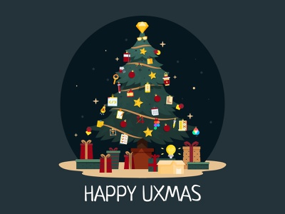 Happy UXmas everyone! 🎄🥳🌟 uidesigner star decoration planner gifts adobexd figma sketch designers uxdesigner uxitems ornaments christmastree tree christmas xmas uxmas uxfruit