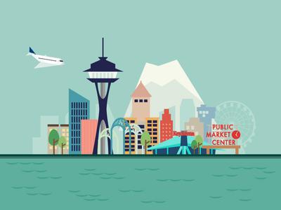 Seattle Illustration