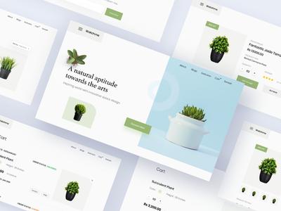 Plants Shop E-commerce Template
