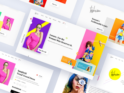 Fashion E-commerce Template