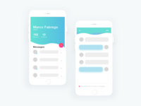 Messaging / Conversation Page