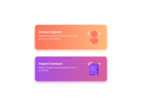 Create and Import Contacts
