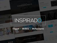 Inspirado - Multipurpose Business PSD