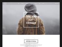 Enigma Creative Minimal Onepage