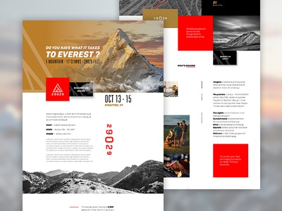 29029 | Everesting endurence trail landing page event