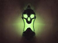 Skull 7 - Hand Lantern