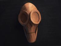 Skull 11 - Saucer Eyes
