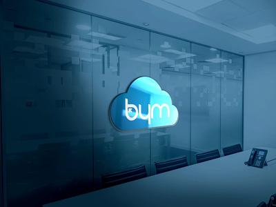 BYM Yazılım - Software Company Logo Working alinedim logo