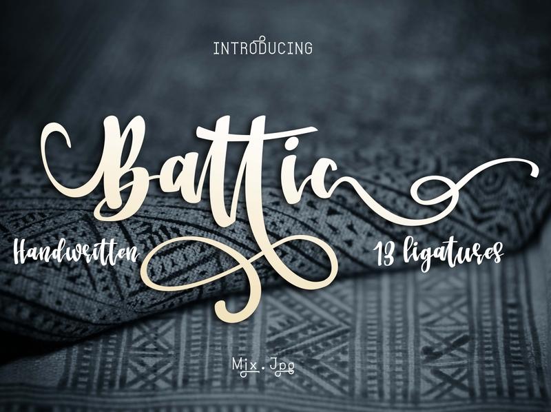Battic Font
