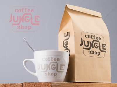Lettering Coffee Jungle Branding