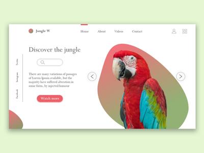 Jungle Website