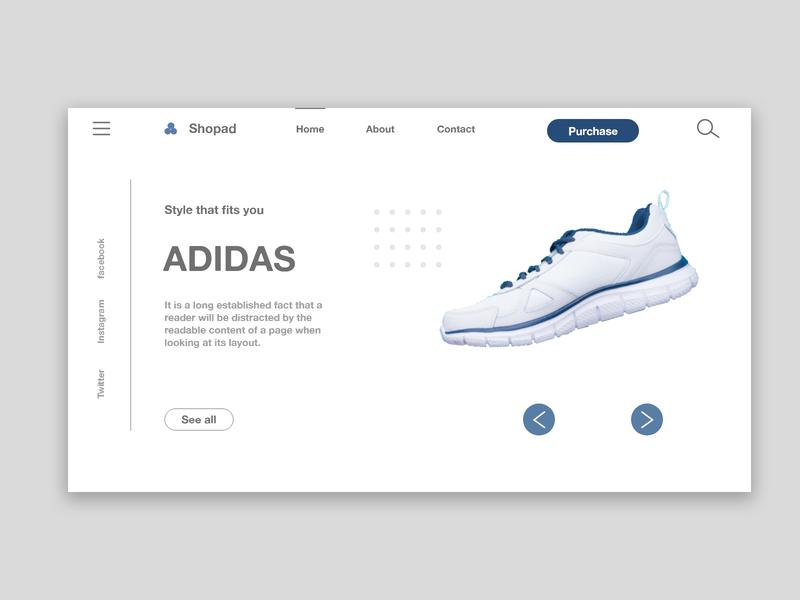 Sneakers Website