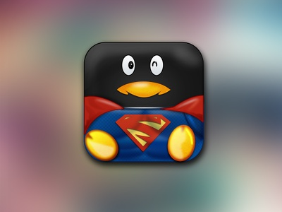 SuperQQ qq icon ios superqq tencent superman