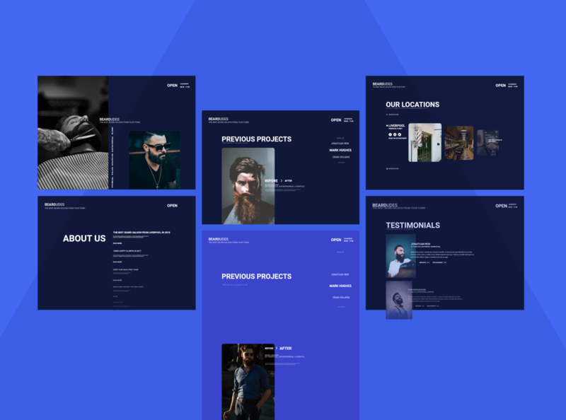 Web Application - Beardudes