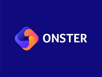 Ownex Gradient - modern Logo web modern logo bold concept simple logo typography creative onster vector illustrator logo mark business branding identity tecnology branding symbol modern abstract gradient logo
