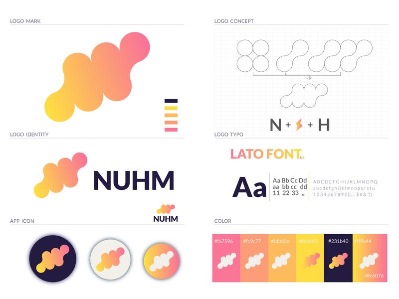 NUHM Branding Logo concept