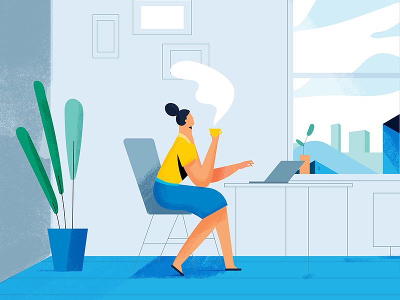 Career Woman by Janis Andzans on Dribbble