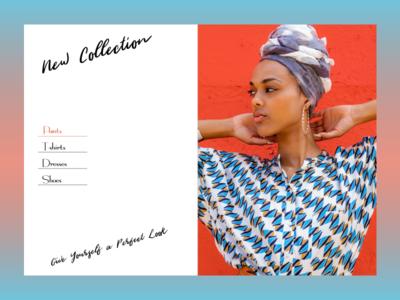 Fashion Collection Header