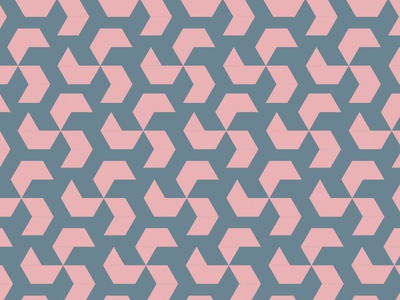 Geometric Pattern spring pink pattern geometric