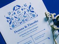 Scandinavian Wedding Invite
