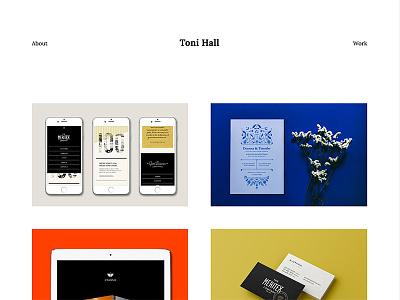 New website! interactive design minimal clean simple portfolio website webdesign